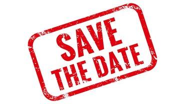 Save the date Termin Ankündigung Einladung Veranstaltung